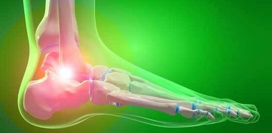 Болезни суставов стопы ног